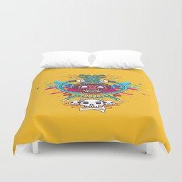 Demonio Azteca Duvet Cover