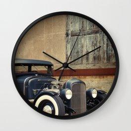 Hot Rod Wall Clock
