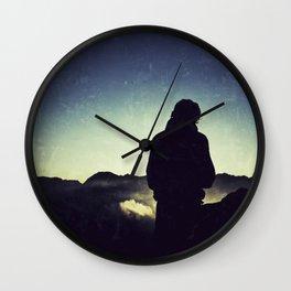 MOUNTAIN TREKKER Wall Clock