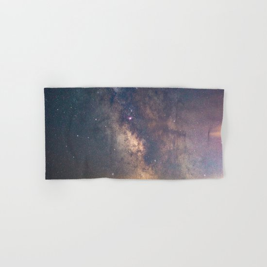 Sagittarius and the Galactic core Hand & Bath Towel