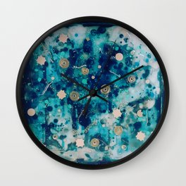 Metal Shards Wall Clock