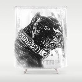 Pit Bull Models: Khan 03-02 Shower Curtain