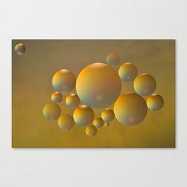 Distant moon. Canvas Print