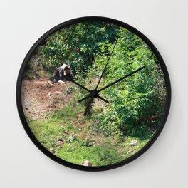 Furry Kindred Spirits Wall Clock