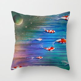 Flight Of The Eventide Throw Pillow
