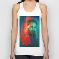 crowley Tank Tops featuring Crowley... MORONS! by Sempaiko