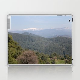 Distant Snow Topped Moutains from Cicekli Ula Laptop & iPad Skin