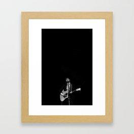 Dan Mangan. Framed Art Print