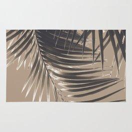 Palm Leaves Sepia Vibes #2 #tropical #decor #art #society6 Rug