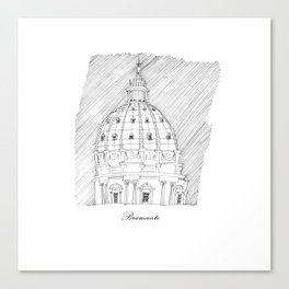 Bramante Canvas Print