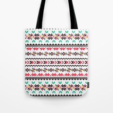 Traditional Embroidery Tote Bag