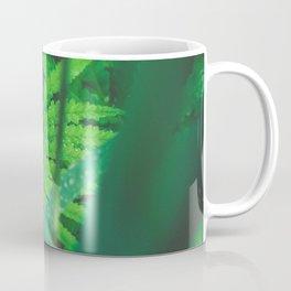 Jungle Green on a Rainy Day Coffee Mug