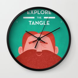 IOTA - Explore the Tangle II Wall Clock
