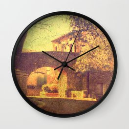 Trip to the past Wall Clock