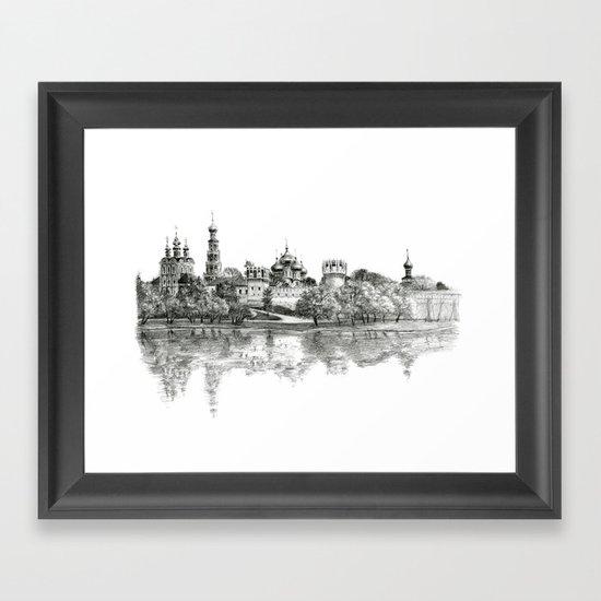 Novodevichy Convent G2010-005 Framed Art Print