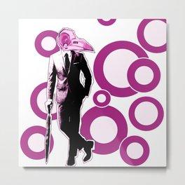 Gentlemen, We got a dead one here.. pink version Metal Print