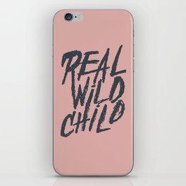 Real Wild Child iPhone Skin