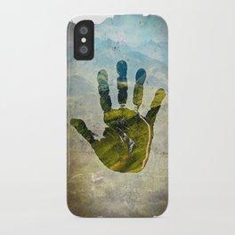 Hand Print iPhone Case
