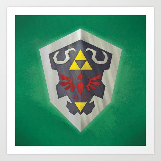 Hylian Shield Art Print