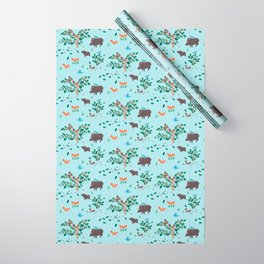 Oak Trees in Forest Wrapping Paper