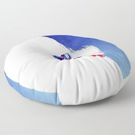 Powder to the People Floor Pillow