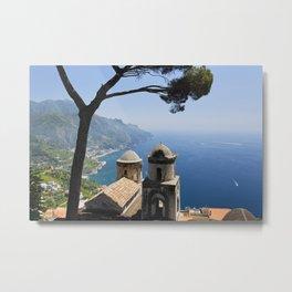 Scenic Vista from Ravello Metal Print