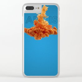 Art is color. Clear iPhone Case