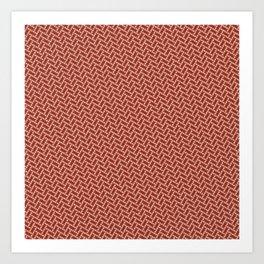 Braided Dots 1 Art Print