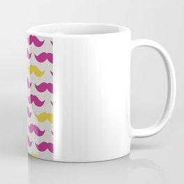 Mustache pattern Coffee Mug