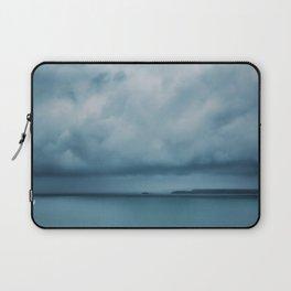 Drifting Blue Laptop Sleeve