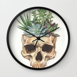 From Death Grows Life Wall Clock