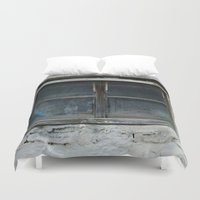 window Duvet Covers featuring window by habish