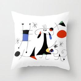 Joan Miro The Sun (El Sol) 1949 Painting Artwork For Prints Posters Tshirts Bags Women Men Kids Throw Pillow