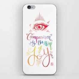 Comparison Kills iPhone Skin