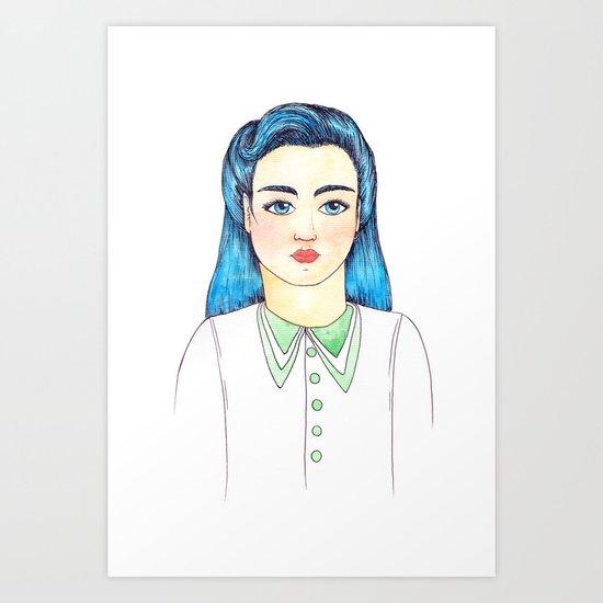 Evette Art Print