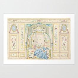 Marie Antoinette Petite Maison Art Print
