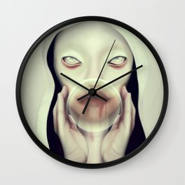 Pestilence Wall Clock