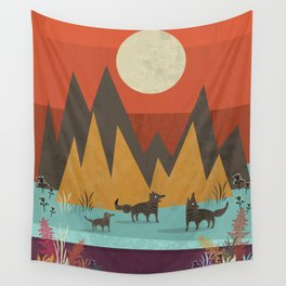 Wolves Wall Tapestry