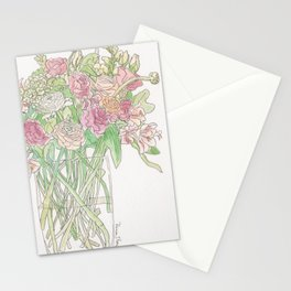 Blooming Bouquet Stationery Cards