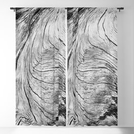 Twisted Driftwood Textures 90 Blackout Curtain