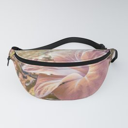Fantasy Colors Hibiscus Flower Digital Photography Fanny Pack
