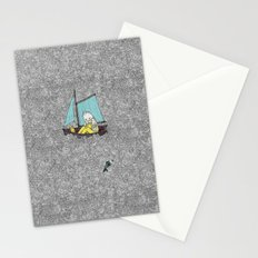 Old Man and the Sea Stationery Cards
