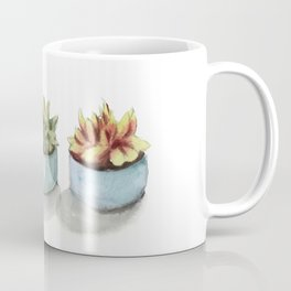 Succulents watercolor painting Coffee Mug