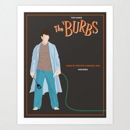 The Burbs Art Print