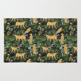 Cheetah in the wild jungle Rug
