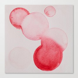 Pink Dots Canvas Print