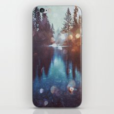 Forest Water Reflection - Magical Forest Reflection in Lake iPhone & iPod Skin