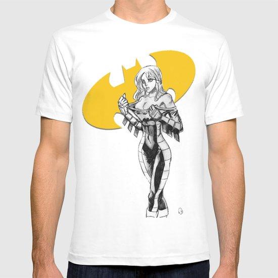 Batgirl Stephanie - Gold T-shirt