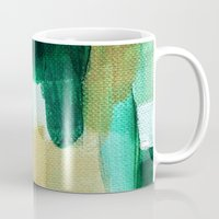 emerald Mugs featuring Emerald by Patricia Vargas