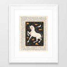 The Steed Framed Art Print